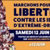 Manifestation unitaire le samedi 12 Juin 2021